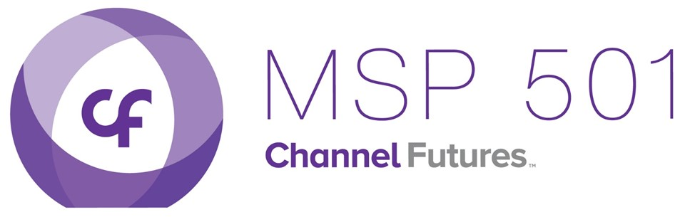 Channel Futures MSP 501 logo with purple lettering and logo
